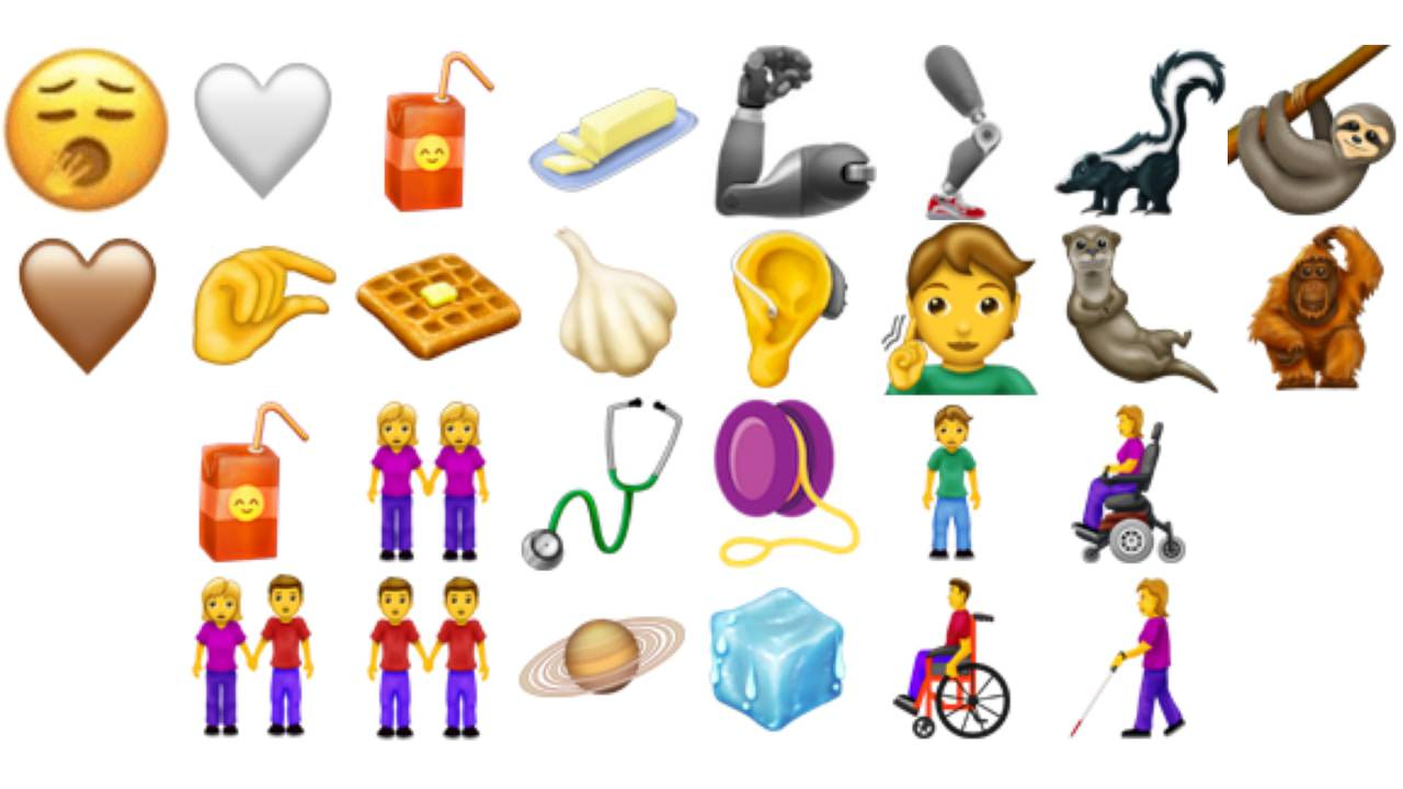The new 2019 Emojis target inclusivity (and waffles)
