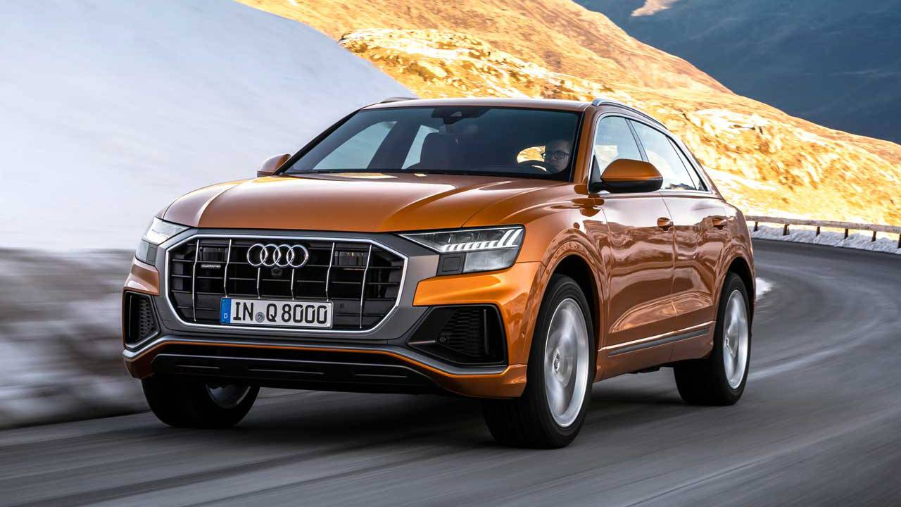 Audi Q8 SUV line expands with a pair of new V6 engine options