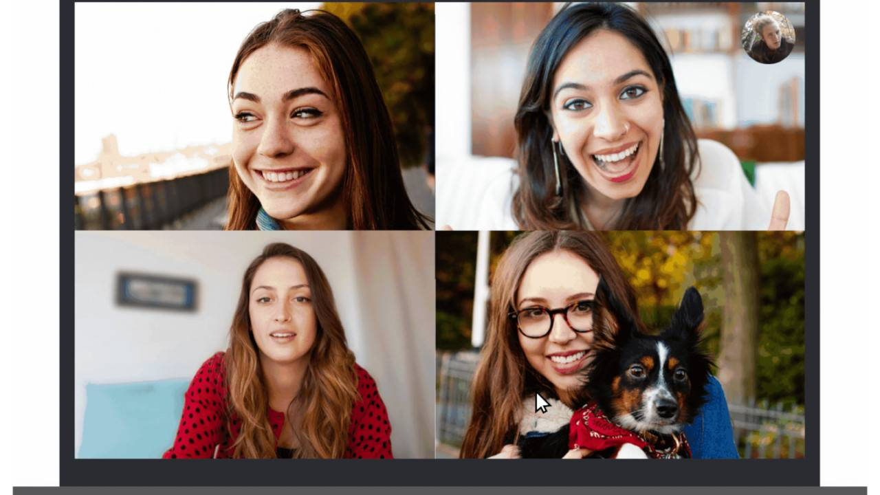 Skype background blur made possible with AI