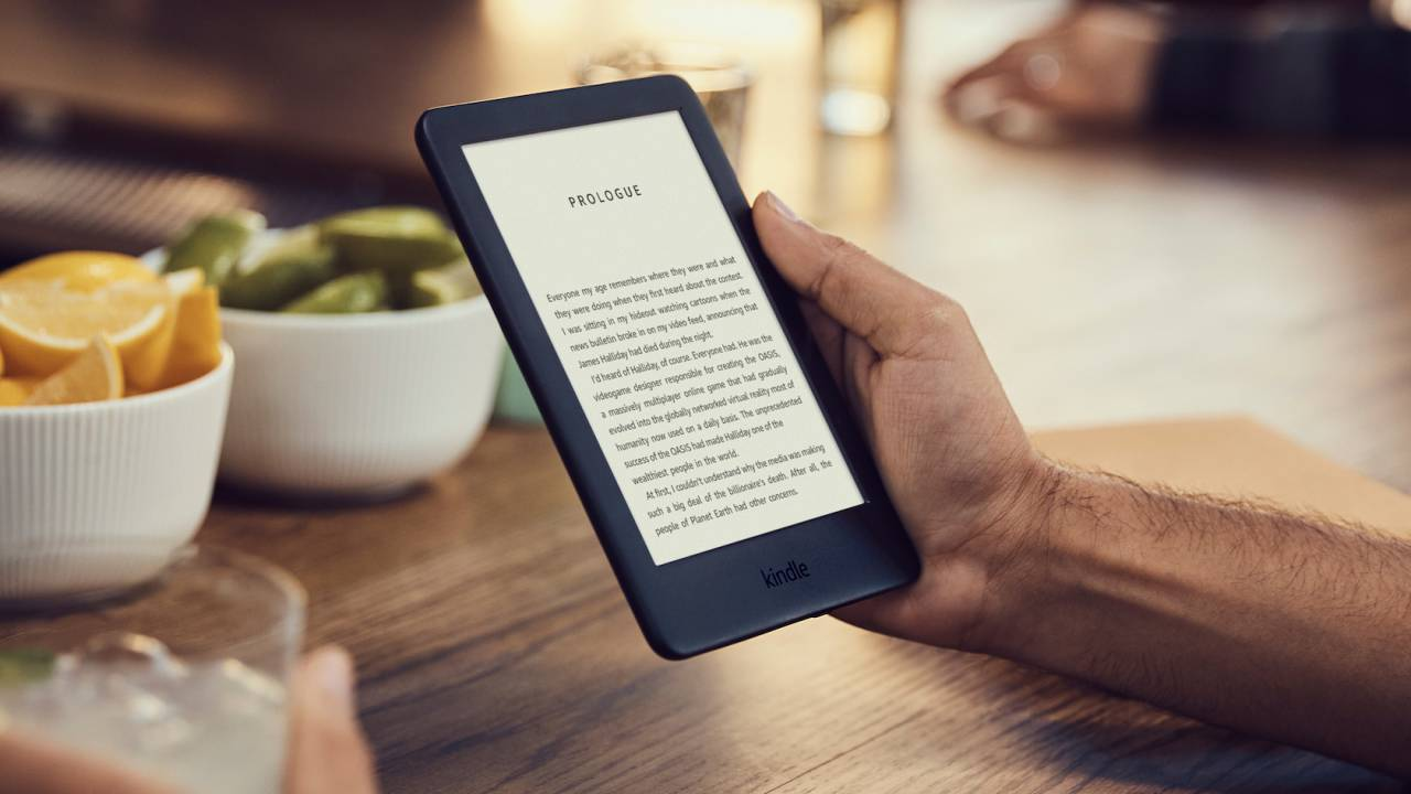 Amazon's all-new Kindle adds screen lighting for under $90