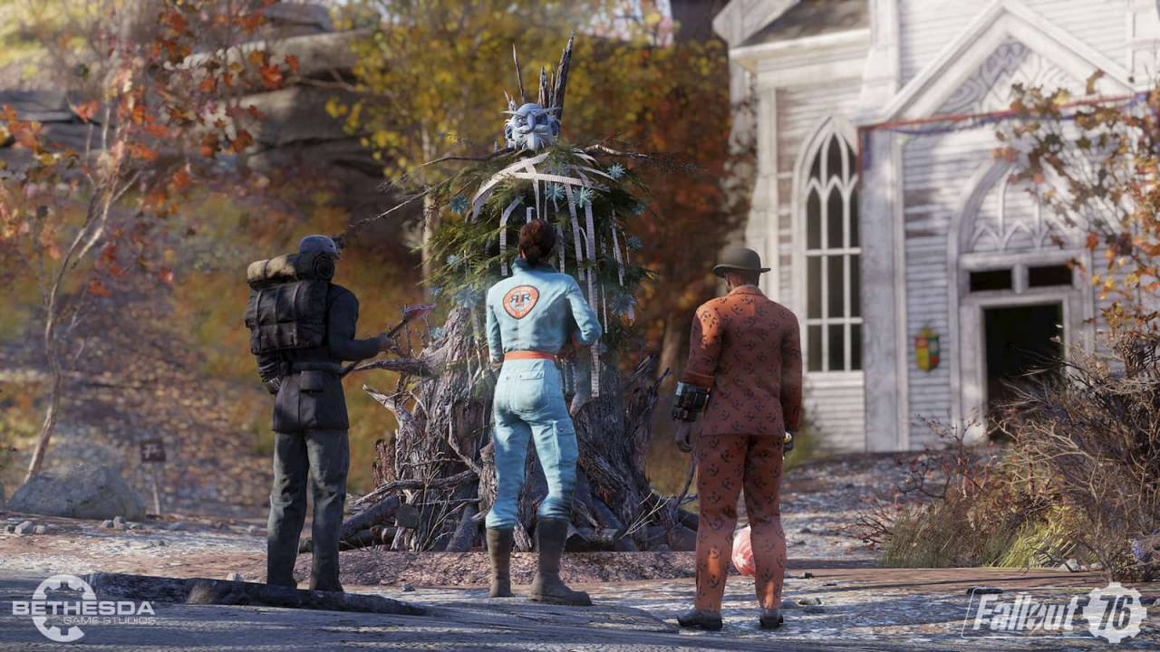Fallout 76 Wild Appalachia update begins rolling out today