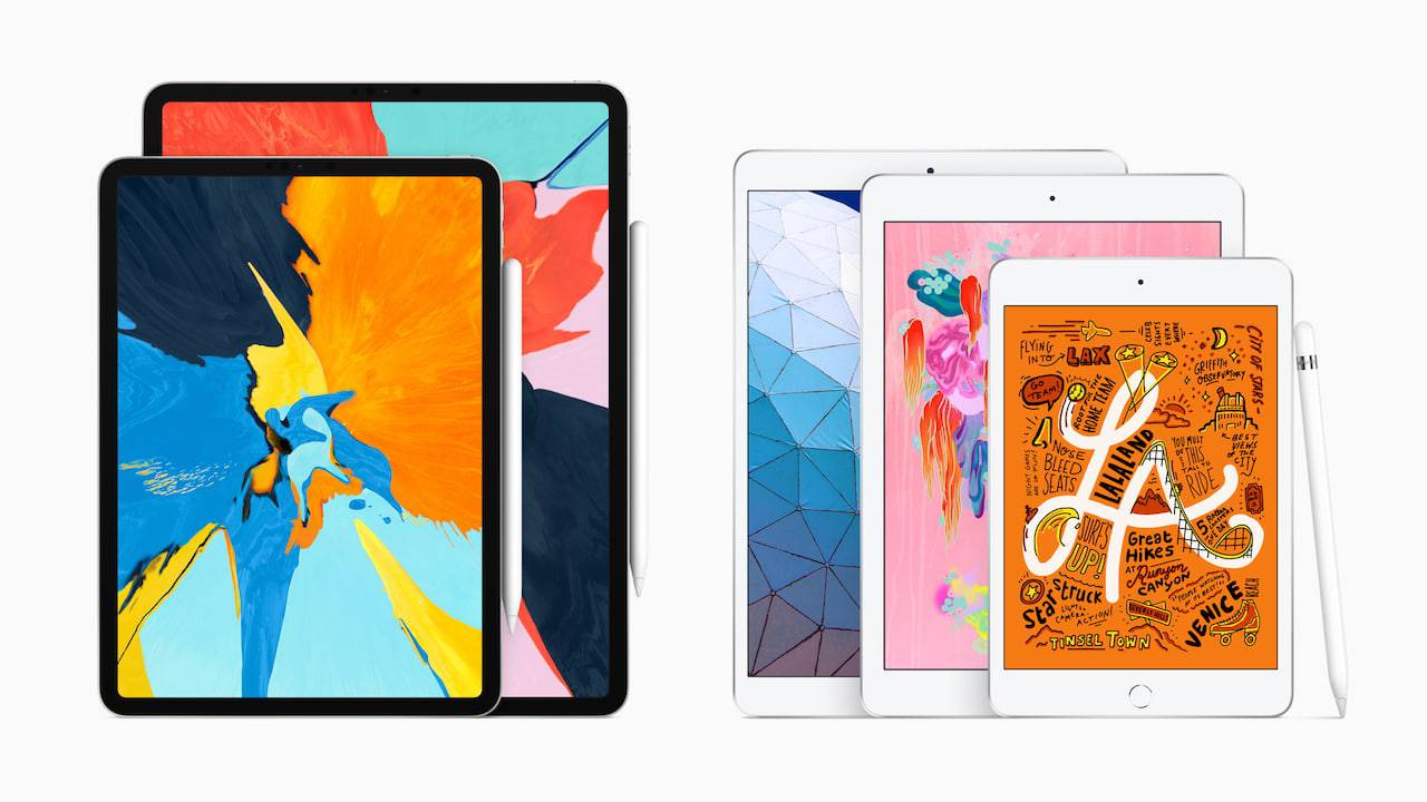 Apple's iPad range (almost) makes sense now
