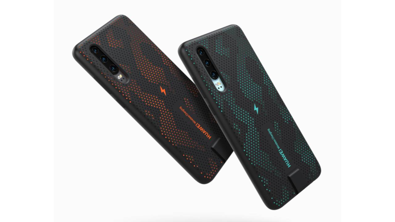Huawei P30 wireless charging case brings the phone closer to a Pro