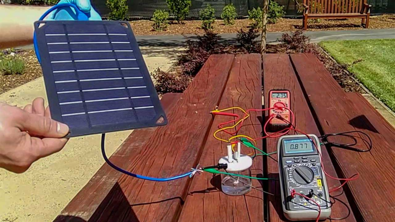 Researchers create a method to make hydrogen from seawater using solar power