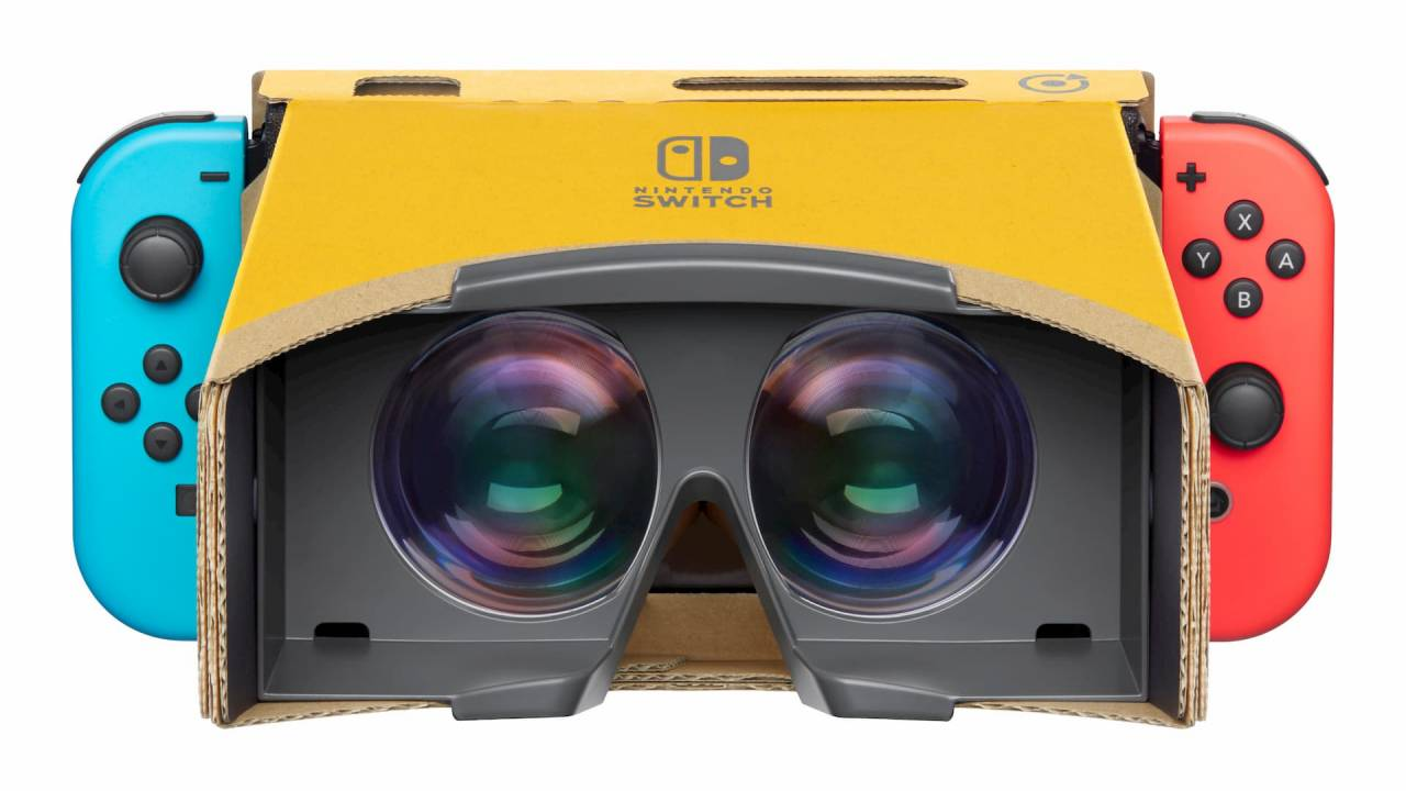 Labo VR modes for Breath of the Wild, Super Mario Odyssey now live