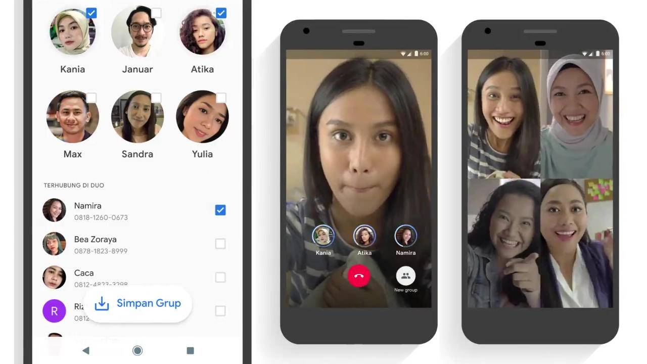 Google Duo group calling rolls out but only in select regions