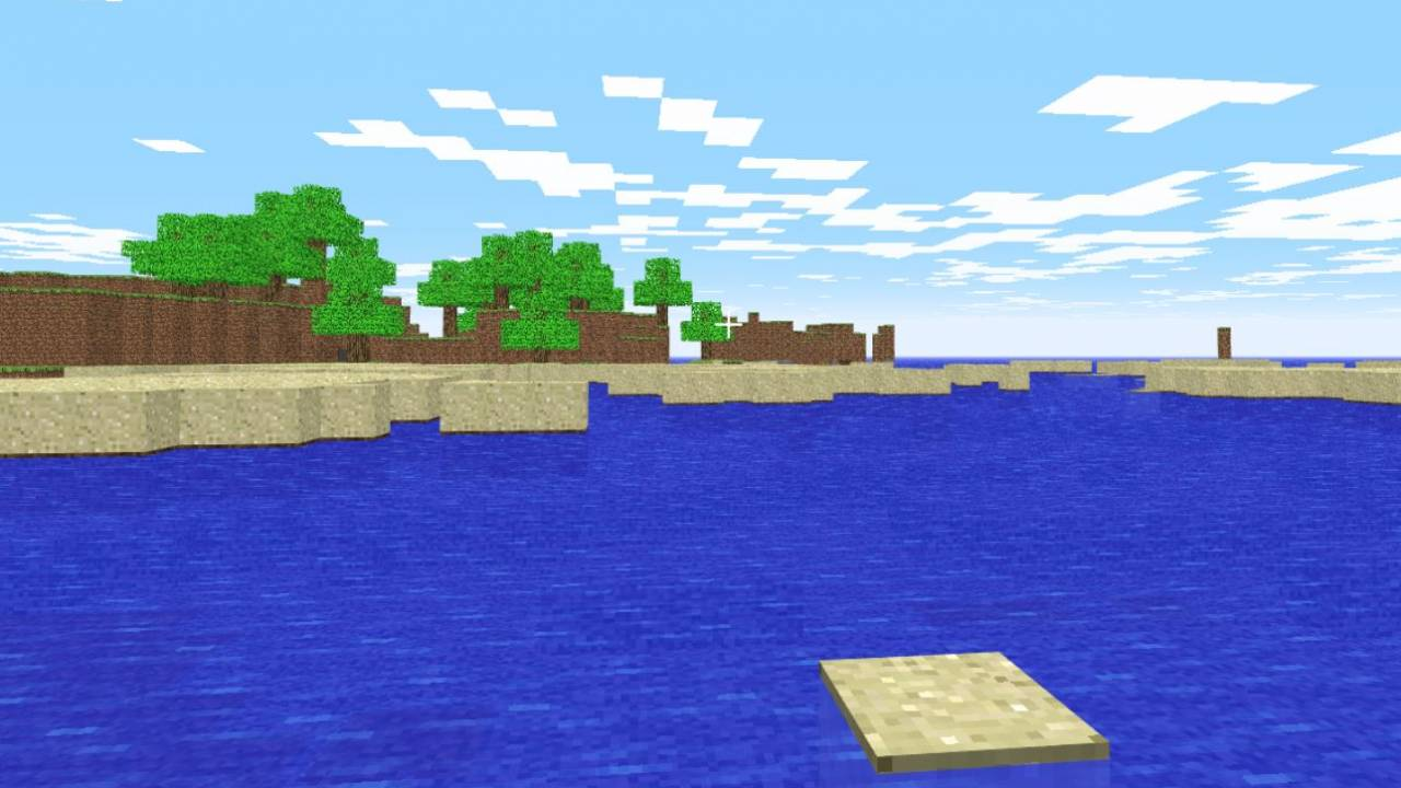Minecraft Classic can now be played in your web browser