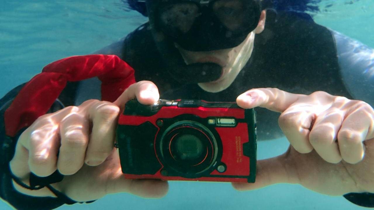 Olympus Tough TG-6 boldly goes where no phone even dares