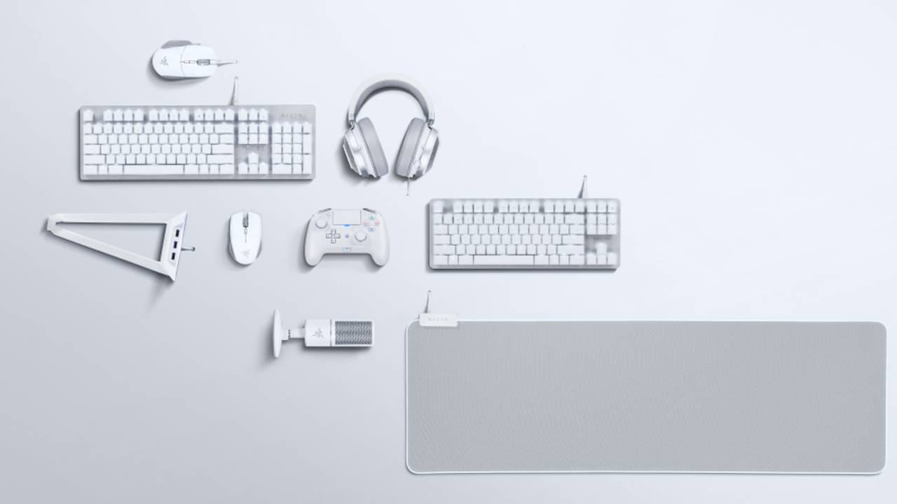 Razer Mercury Collection 2019 revealed with nine all-white accessories