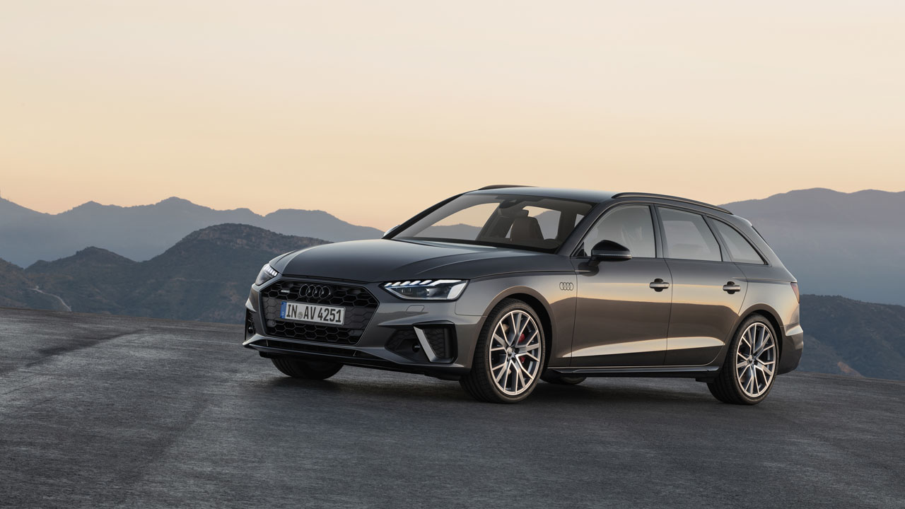 Audi A4 offers a V6 TDI engine paired with 48V main electrical system