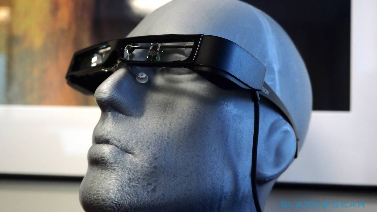 Epson Moverio BT-30C smart glasses plug into your Android phone