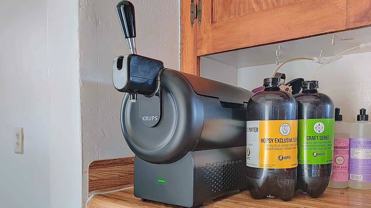 Hopsy SUB Compact Tap Review: Mini beer keg machine in effect