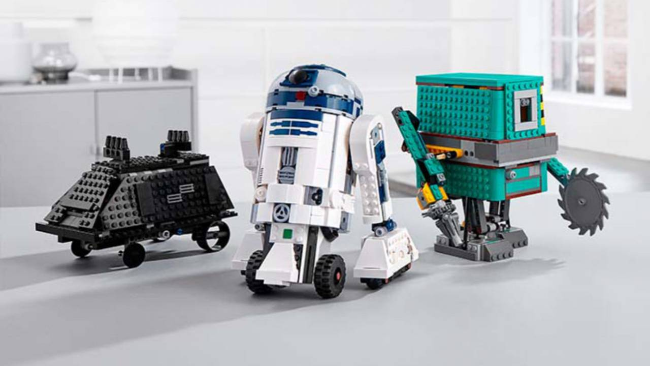 LEGO Star Wars Boost Droid Commander coding kit arrives this fall