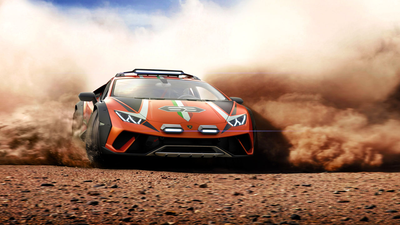 Lamborghini Huracan Sterrato Concept is an off-roader