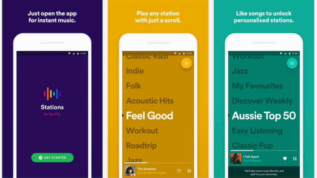 Spotify Stations is finally available in the US