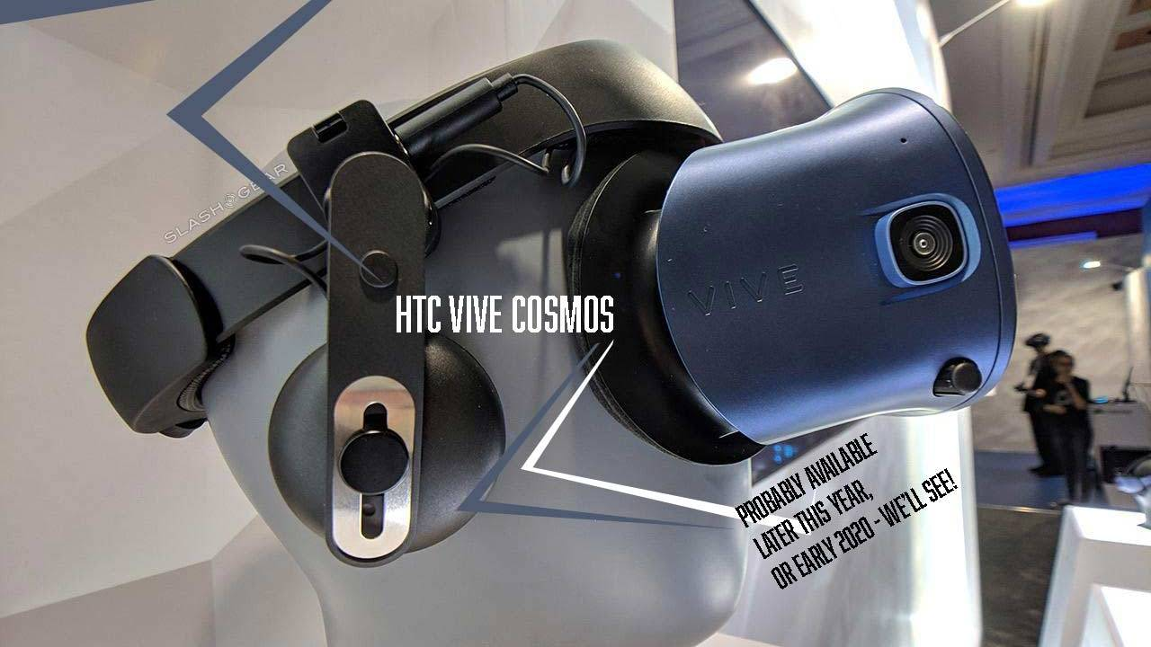 HTC Vive Cosmos (2019) details updated