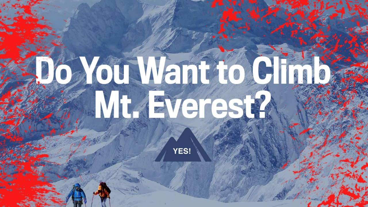 John Oliver: Mt Everest is polluted for want of selfie photos