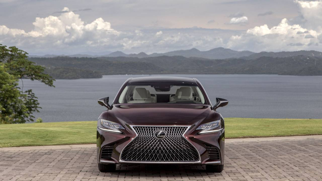 2020 Lexus LS 500 Inspiration Series lands this fall in Deep Garnet paint