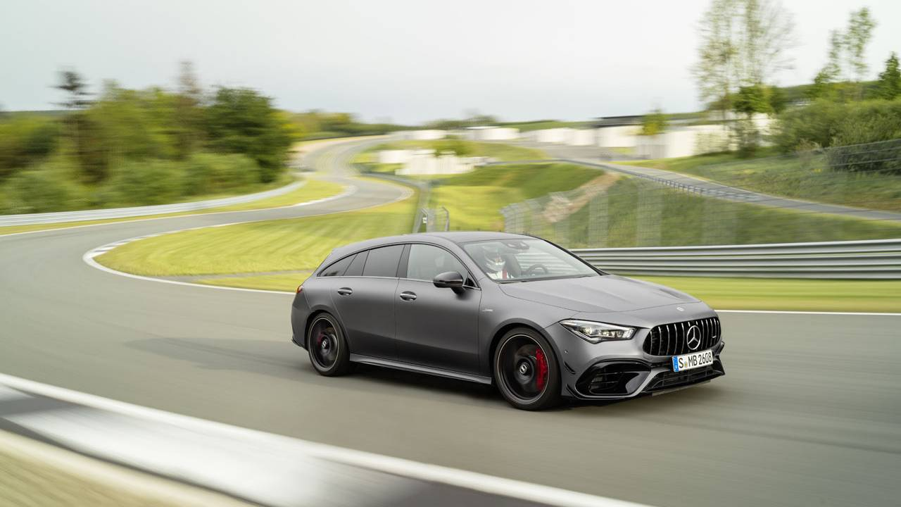 Mercedes-AMG CLA 45 and CLA 45 S 4Matic+ Shooting Brakes debut
