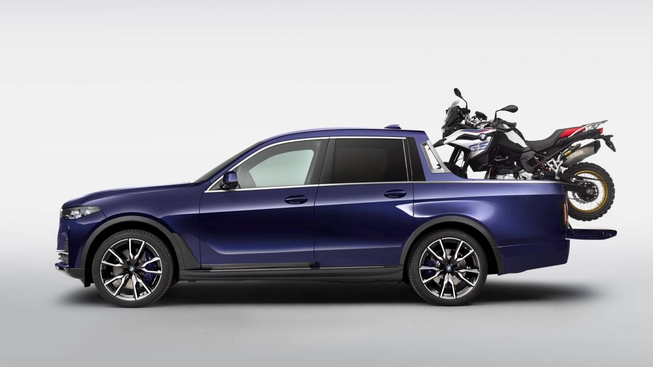 BMW X7 pickup truck is an epic luxury one-off