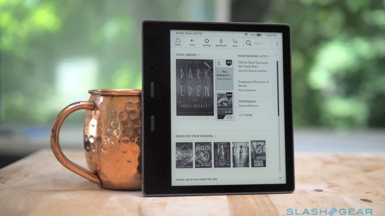 Amazon Kindle Oasis Review (2019): An ereader you'll warm to
