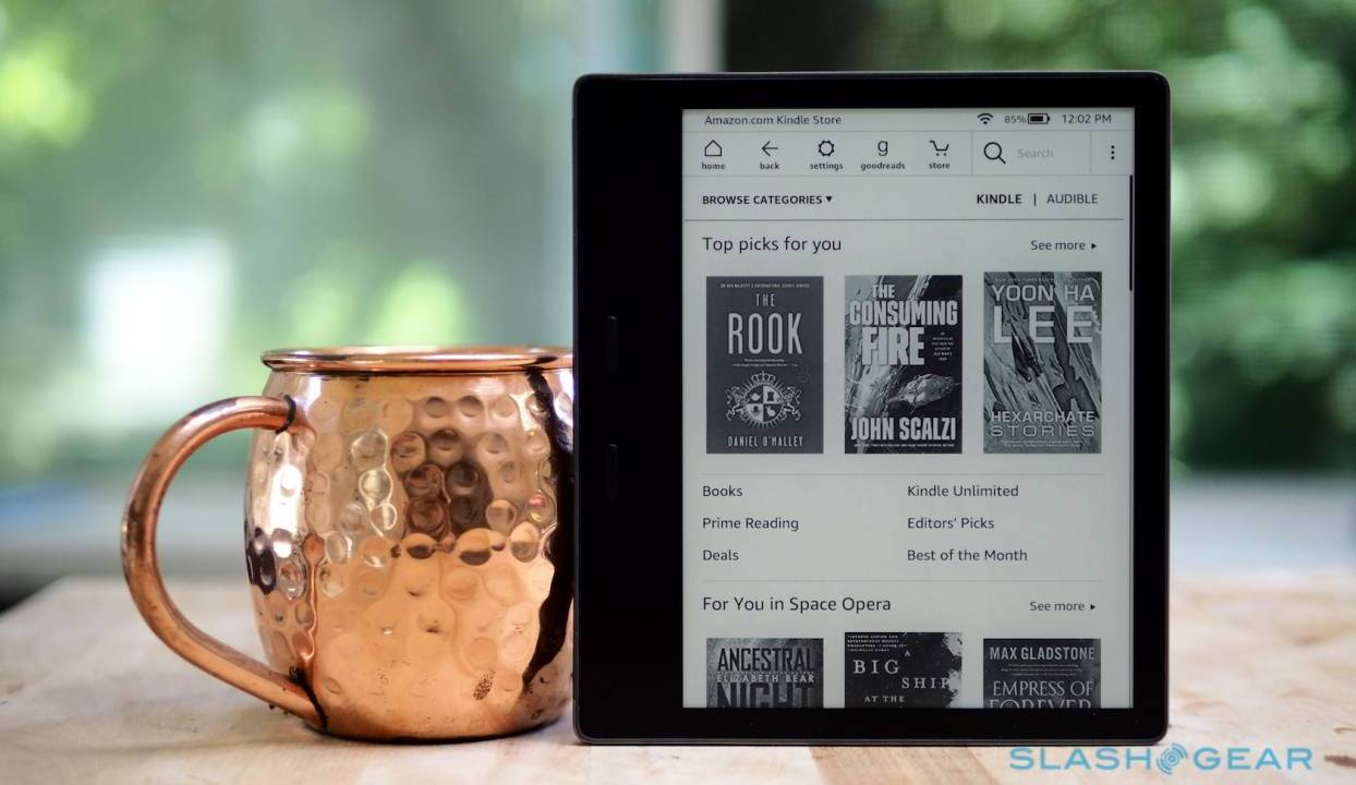 2019 Kindle Oasis launches as Kindle Paperwhite gets a new look