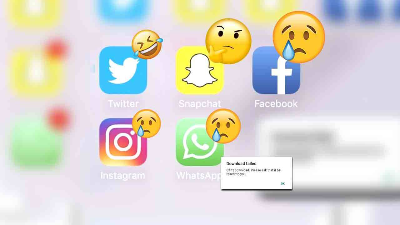 Facebook is down, WhatsApp and Instagram also hairy
