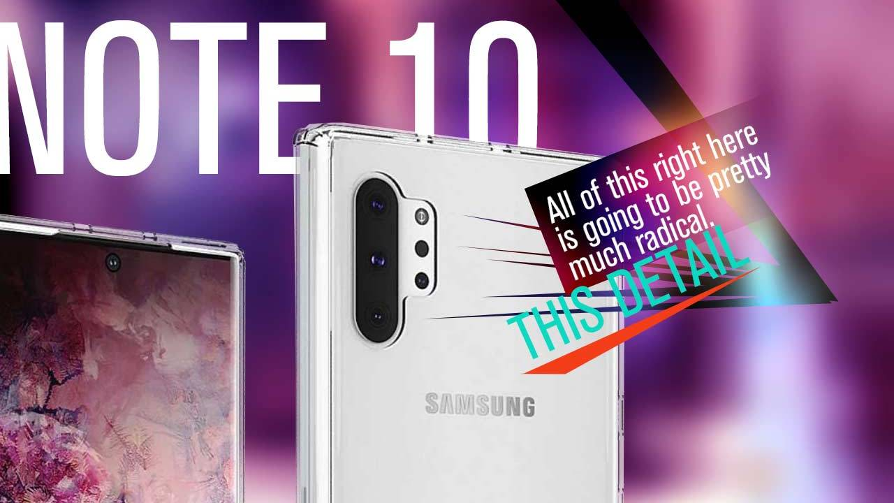 Galaxy Note 10 primary feature further confirmed: Aimed at new iPhone 11 war