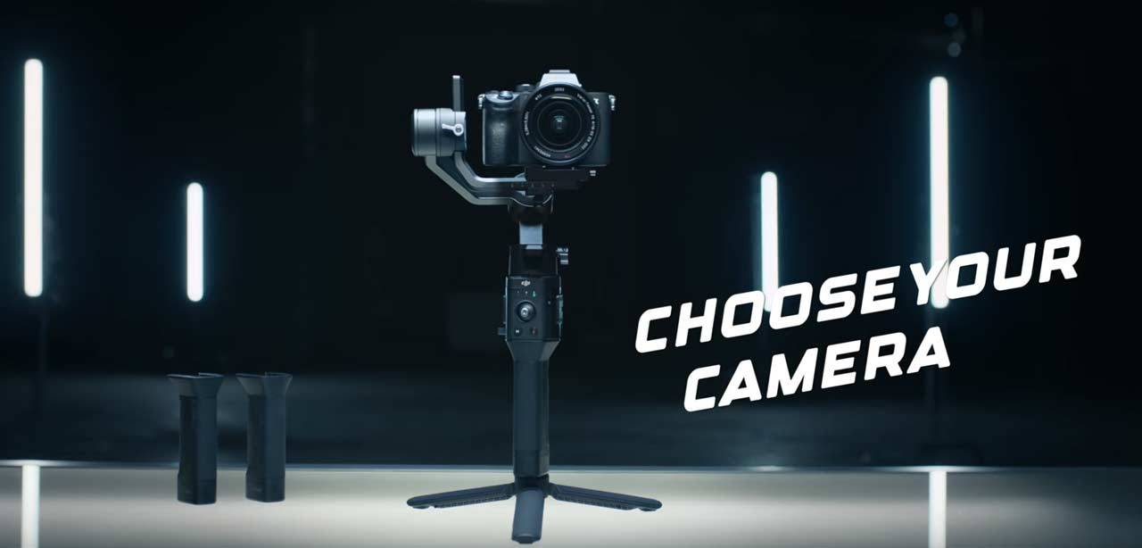 DJI Ronin-SC gimbal packed with features for mirrorless cameras at $440