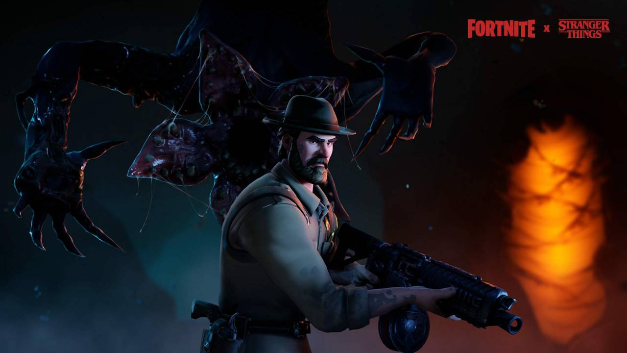 Fortnite expands Stranger Things tie-in with skins and wraps