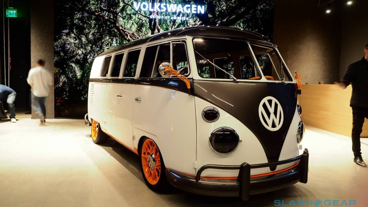 VW's glorious retro EV concept blends 1962 with the tech of tomorrow