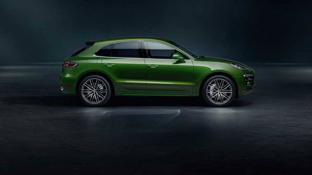 2020 Macan Turbo features a 2.9L biturbo six-cylinder