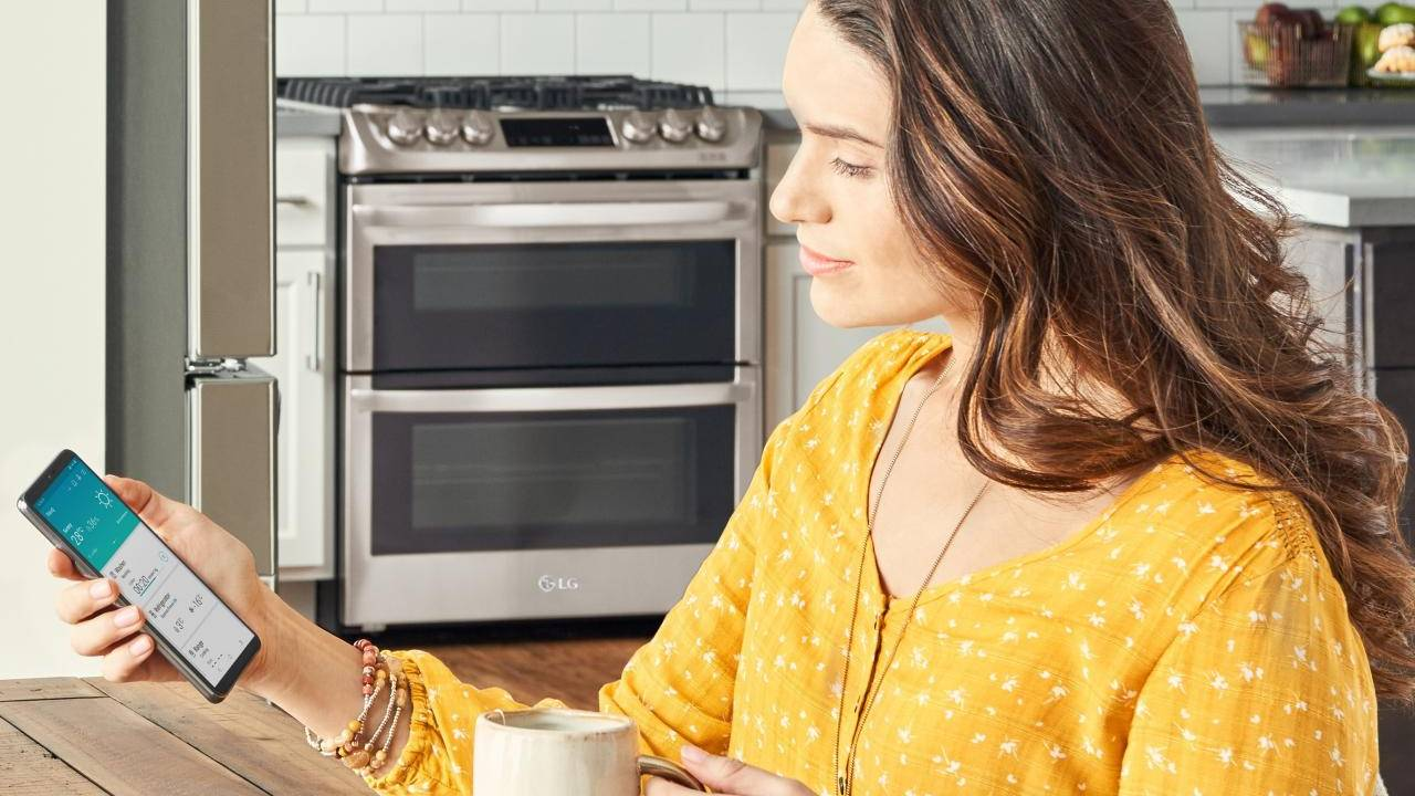 LG ThinQ app adds voice recognition to control and query smart appliances