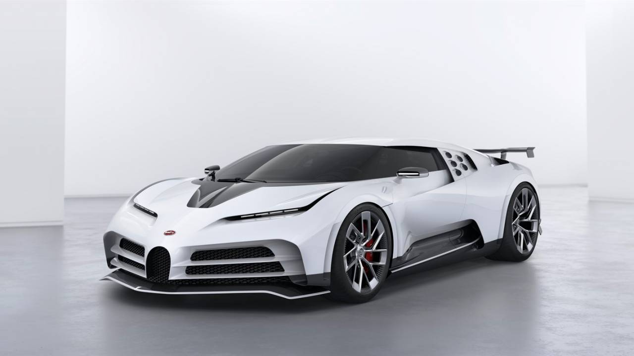 Bugatti Centodieci is a $9m 1,600hp homage to the iconic EB110