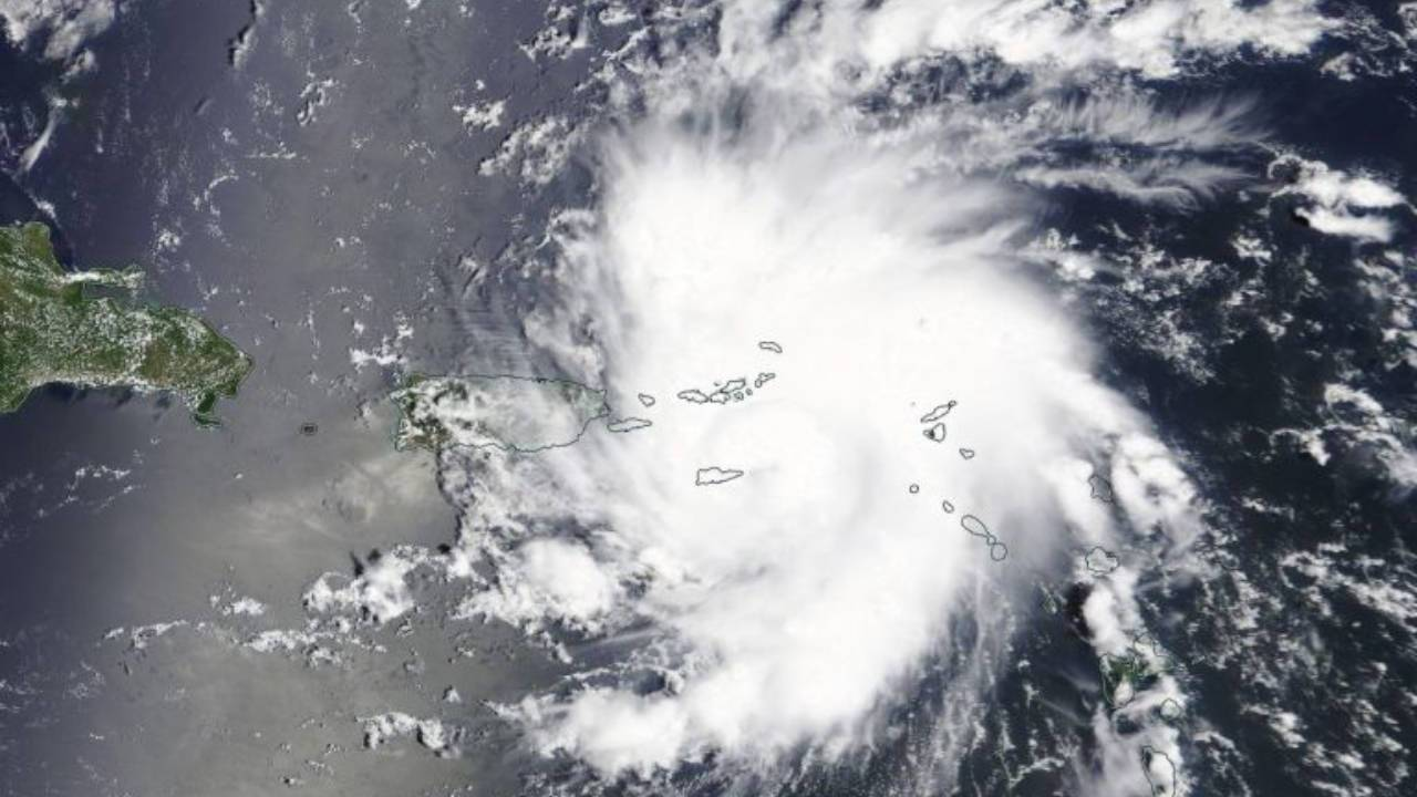 NASA video shows Hurricane Dorian from the International Space Station