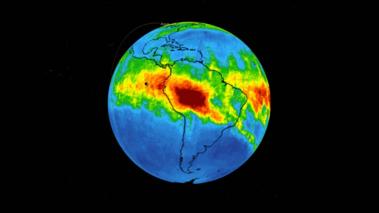 NASA's Amazon forest fire map shows just how much trouble we're in
