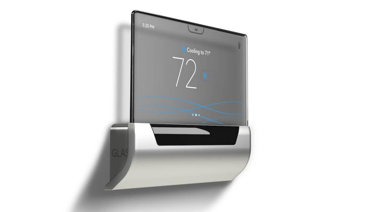 The sleek GLAS smart thermostat is losing Cortana