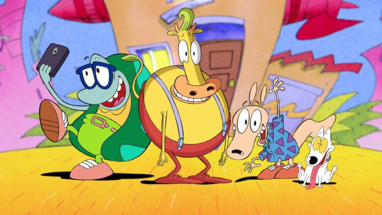 'Rocko's Modern Life' and 'Invader Zim' movies arrive on Netflix