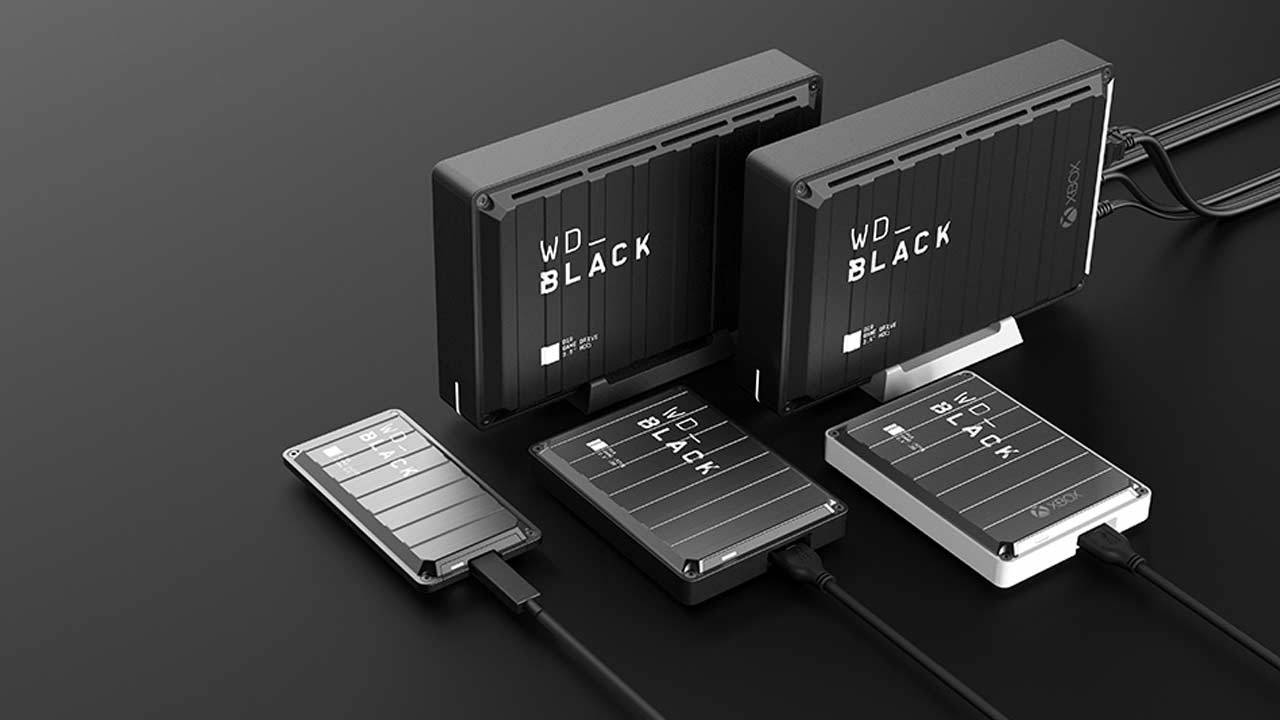 WD_Black gaming HDD and SSD look like shipping containers