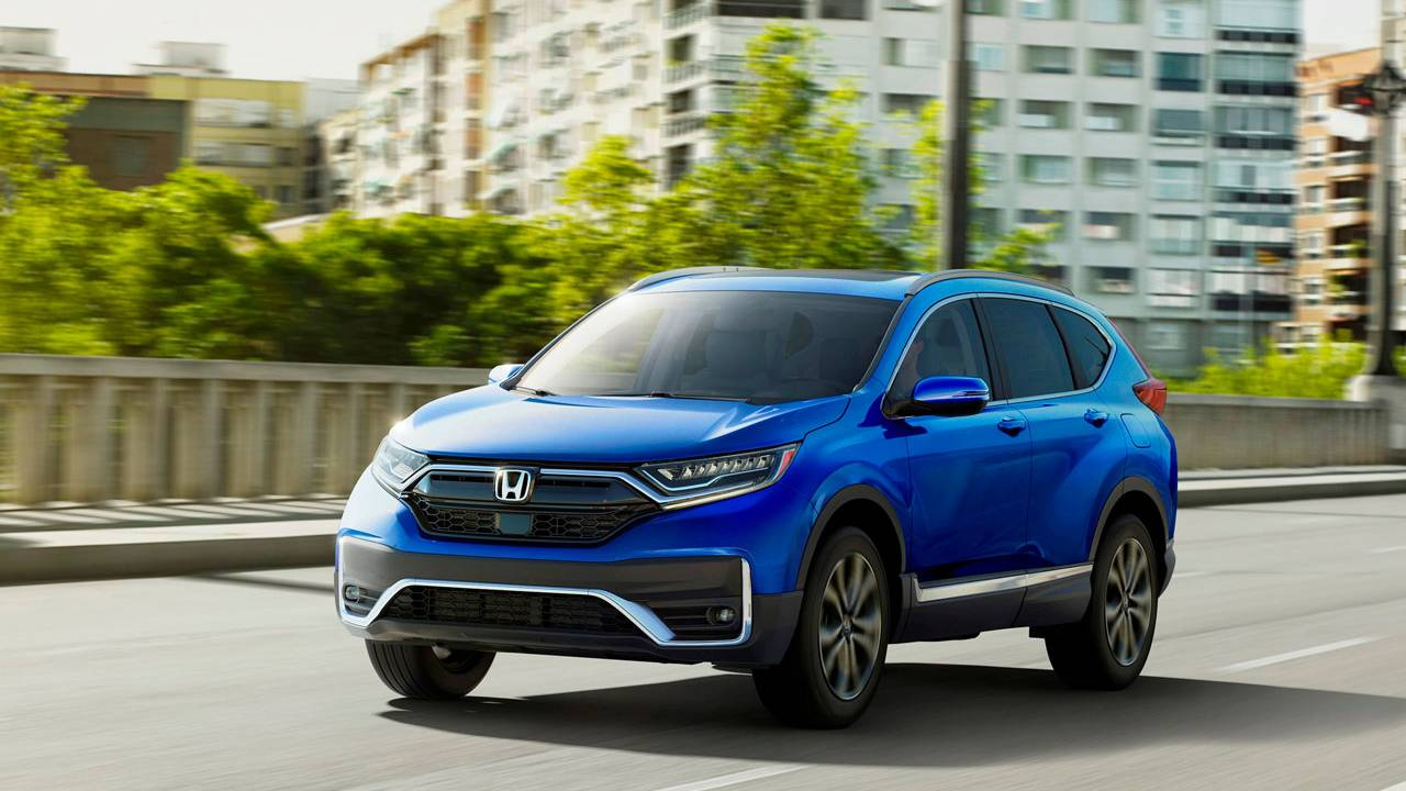 2020 Honda CR-V is refreshed and offers a new hybrid version