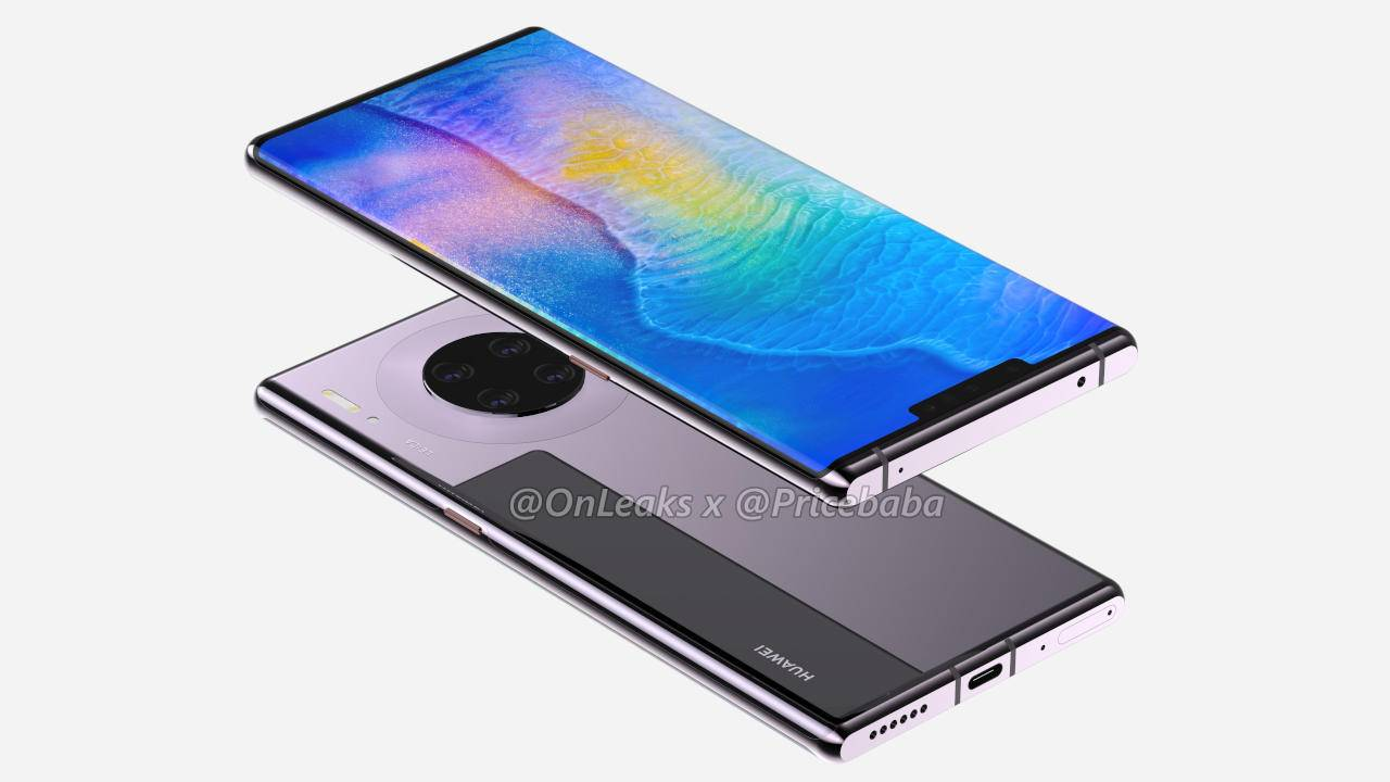 Huawei Mate 30 Pro renders leave nothing to the imagination
