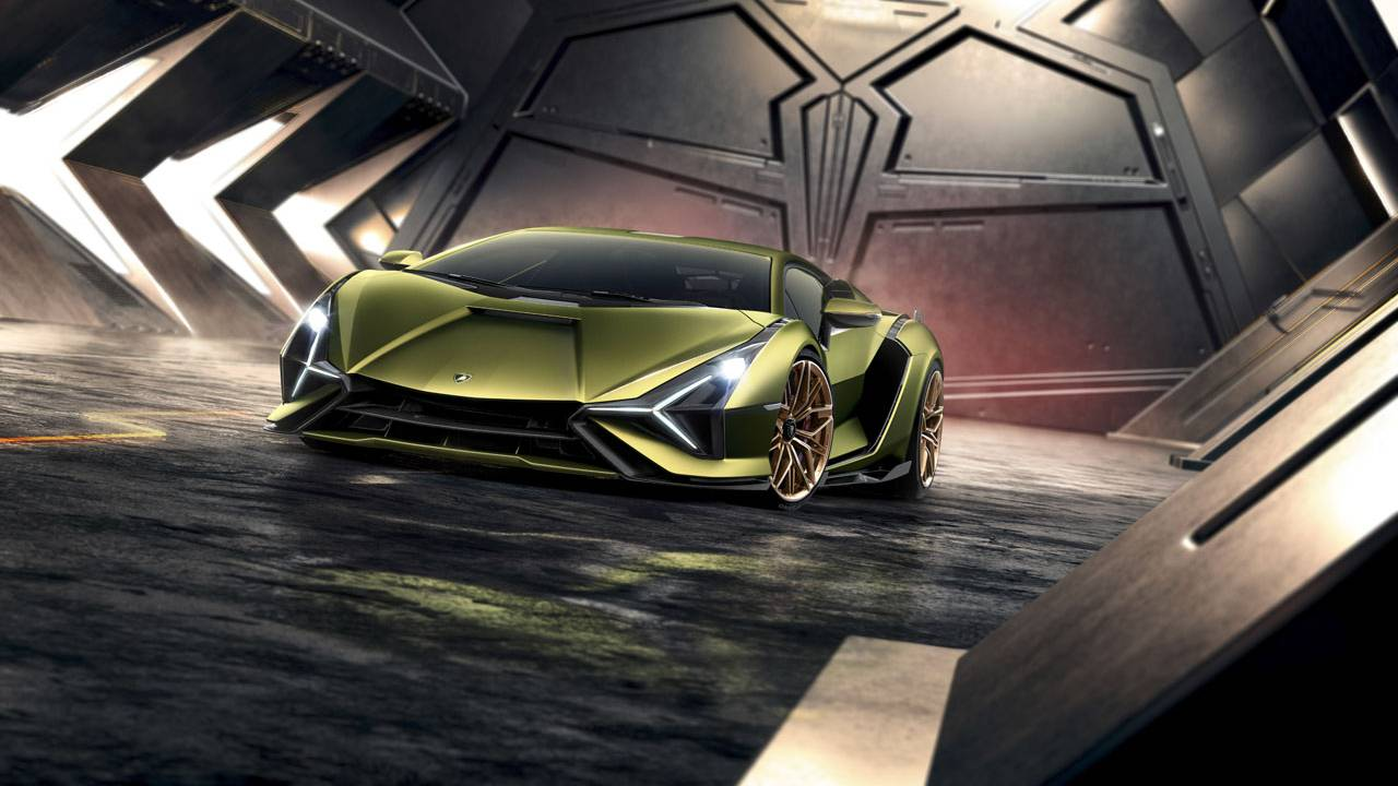 Lamborghini Sian pairs V12 power with hybrid tech