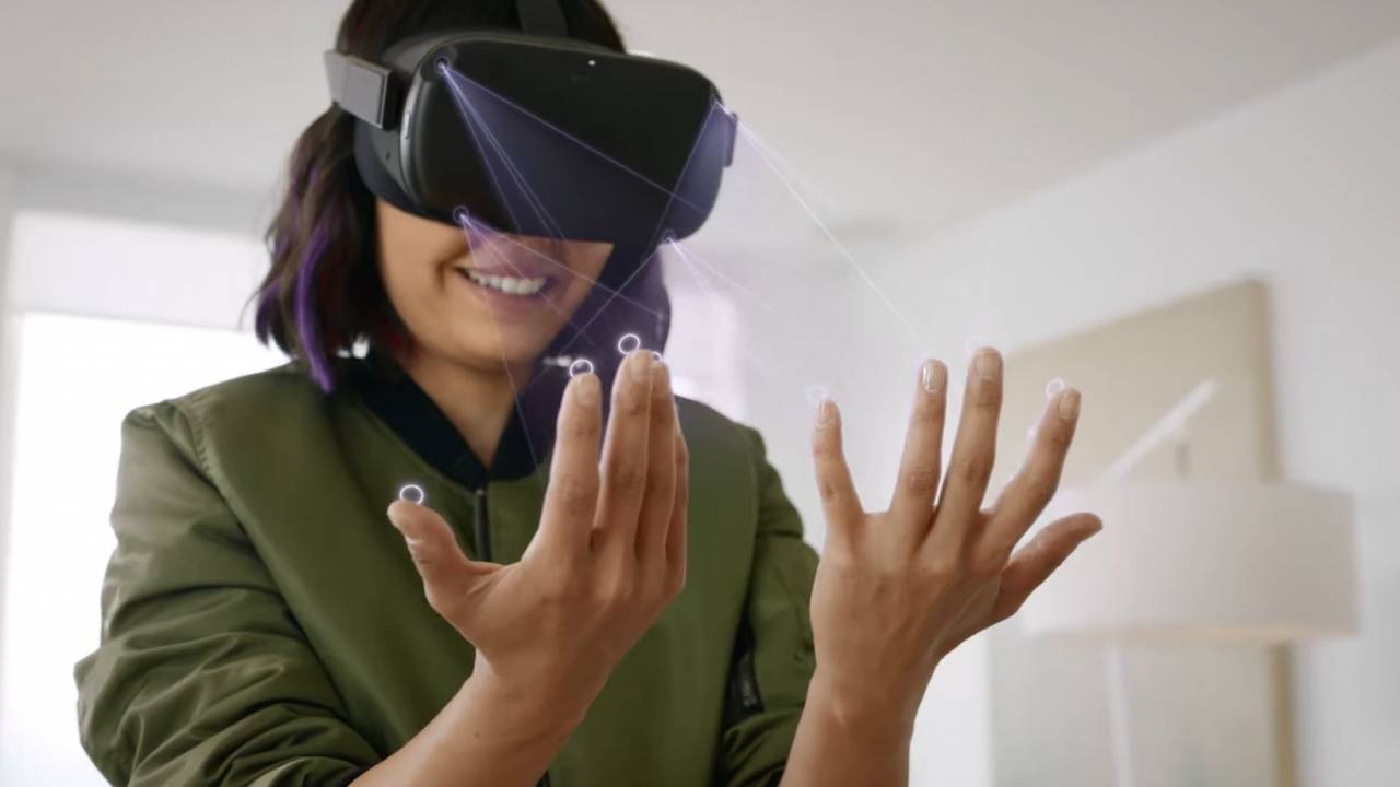 Oculus Quest ditches controllers with hand tracking next year