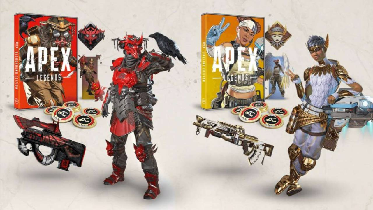 Apex Legends physical release will offer exclusive skins and Apex Coins