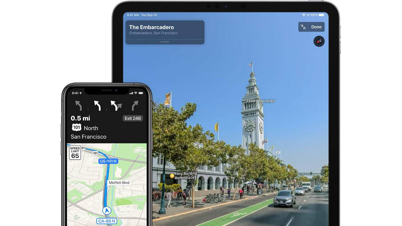 Apple Maps inches closer to catching up with Google Maps and Waze