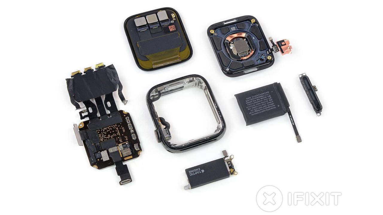 Apple Watch 5 teardown is a very familiar affair