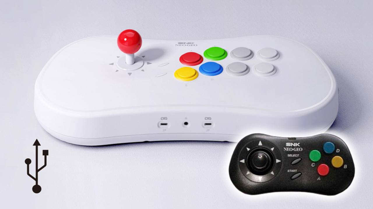 Neo Geo Arcade Stick Pro preloaded games and specs revealed