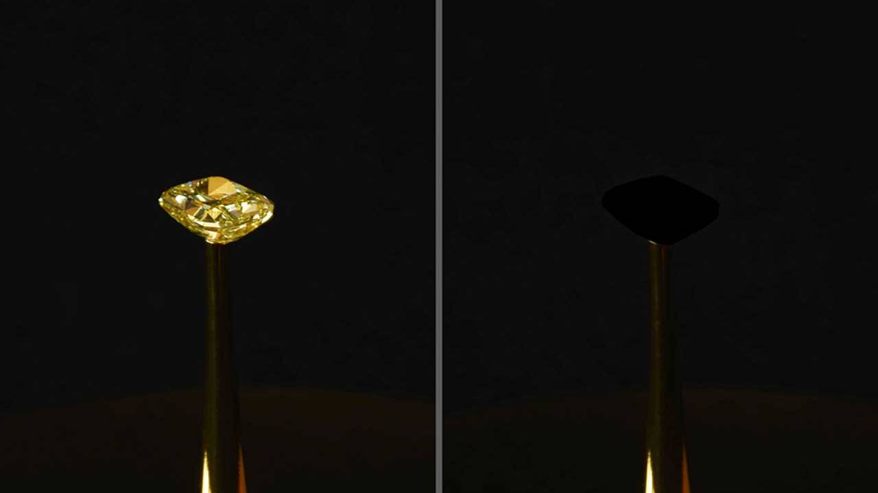 MIT has developed the blackest black material