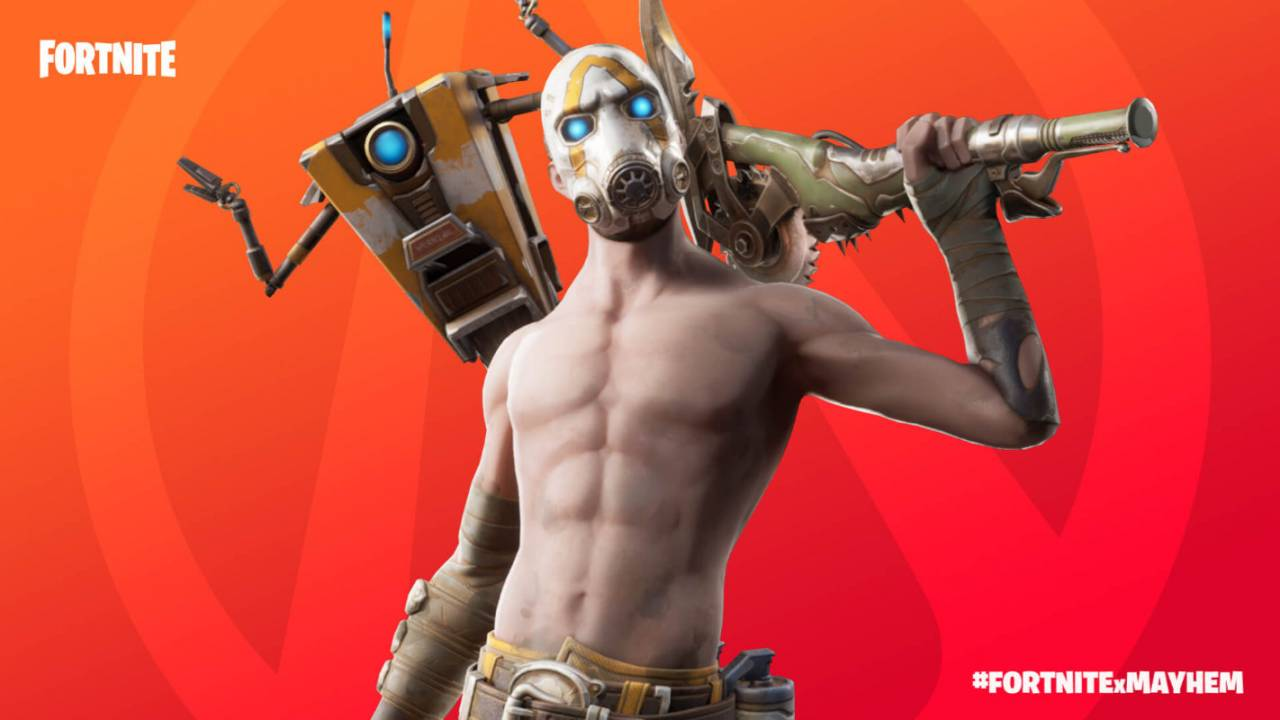 Fortnite Psycho Bundle offers free gear with Borderlands 3 purchase
