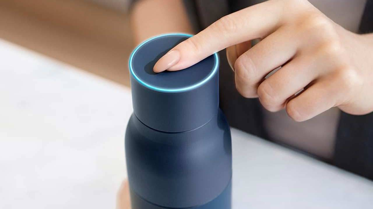 LARQ is a $118 water bottle that kills germs